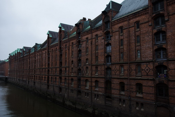 портовые склады и канал,Hamburg,Germany