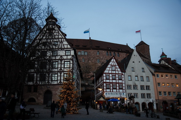дом Дюрера ,Nurnberg,Germany