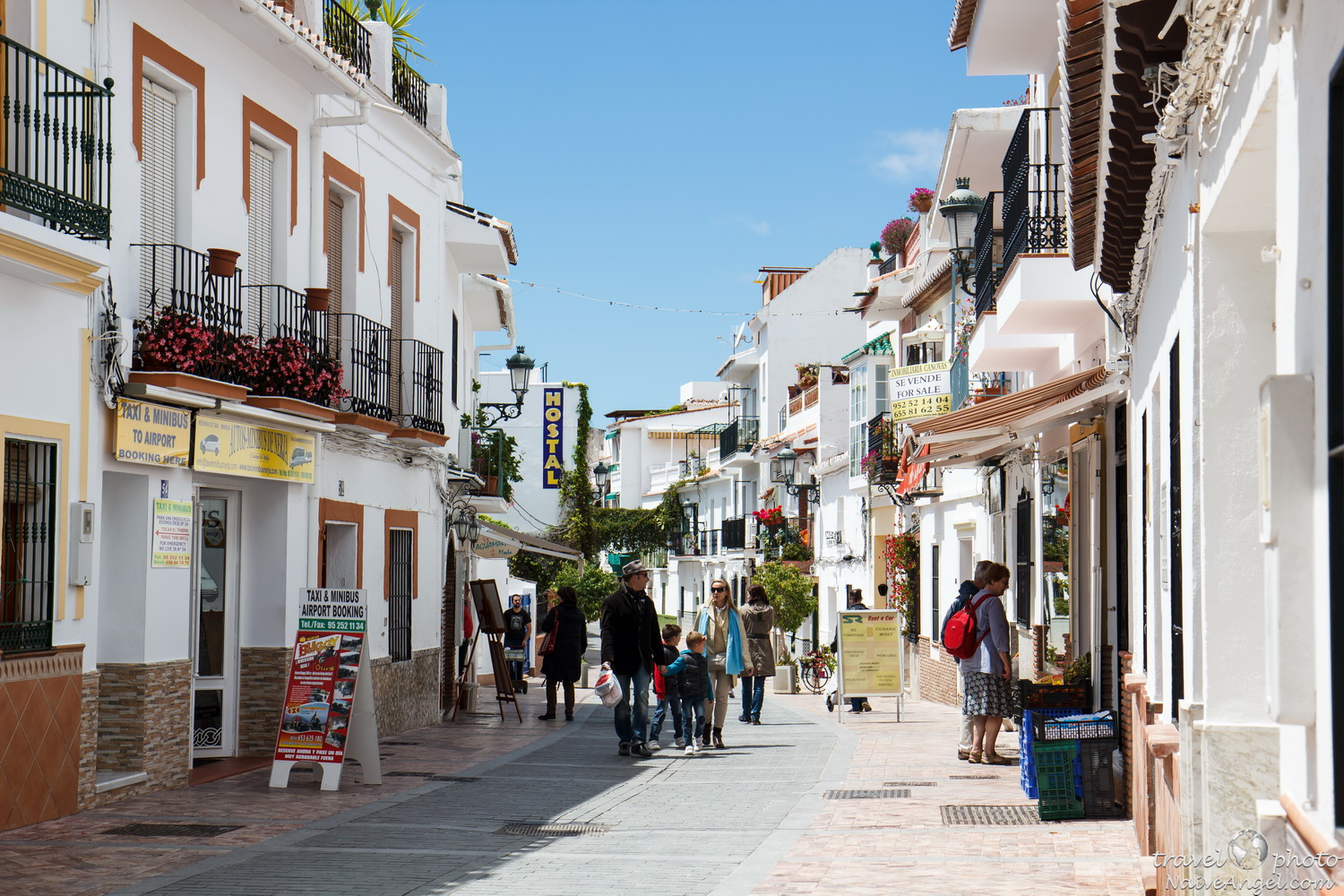 Part 11. Southern Spain - Nerja and Frigiliana.   Life is a journey