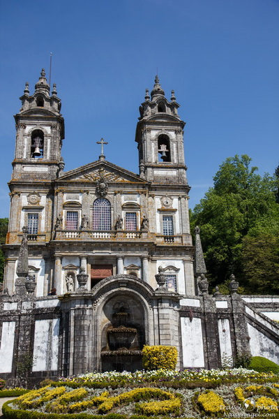 фасад церкви,Bom Jesus do Monte ,Portugal