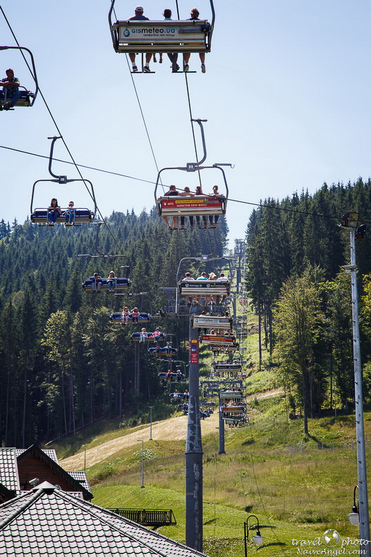 подъемник а1,bukovel,summer,ukraine