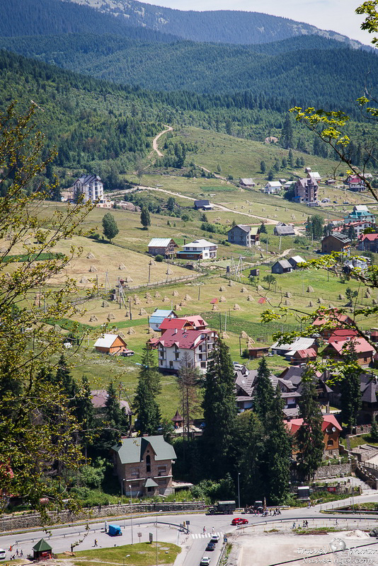 домики,bukovel,summer,ukraine