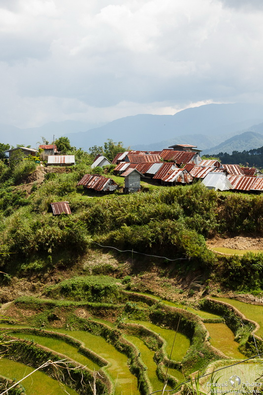 старые домики,rice terraces,maligkong,philippines
