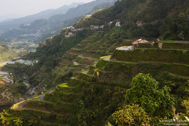 поселок на закате,banaue,rice terraces,philippines