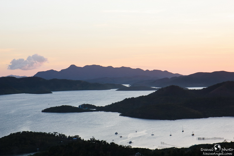 see and islands sunset,busuanga,Coron,philippines