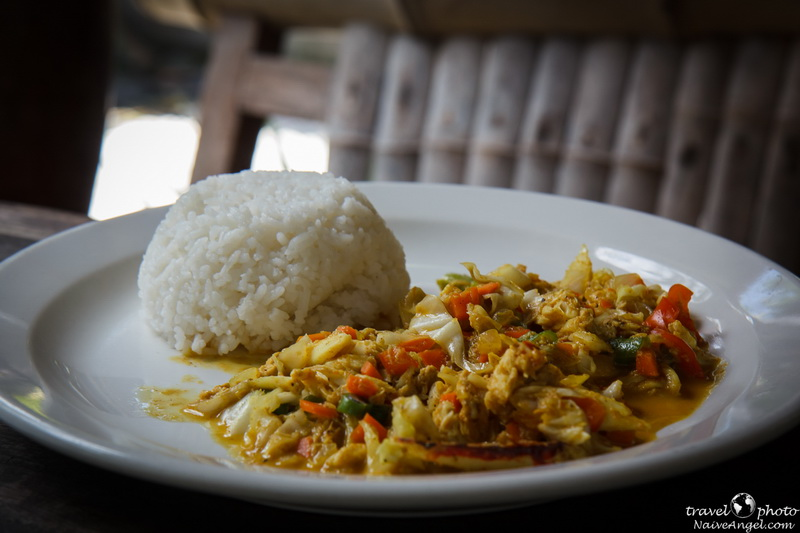филиппинское блюдо,Jambalaya Cajun Cafe,port burton,palawan,philippines