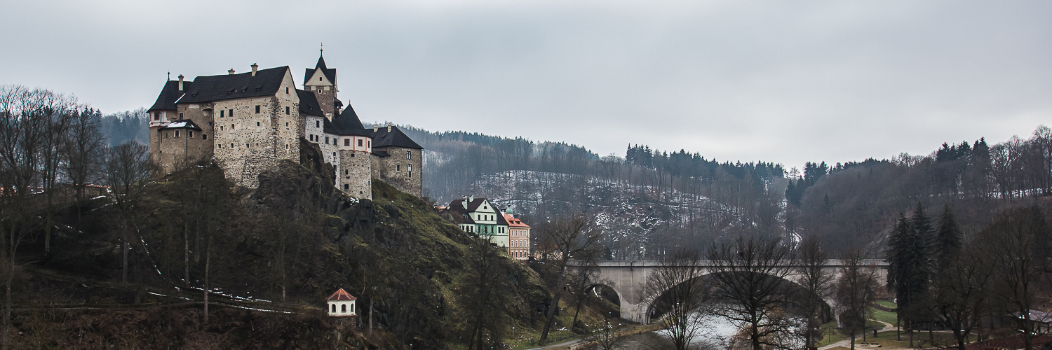 зимний замок,Loket Castle,CzechRepublic