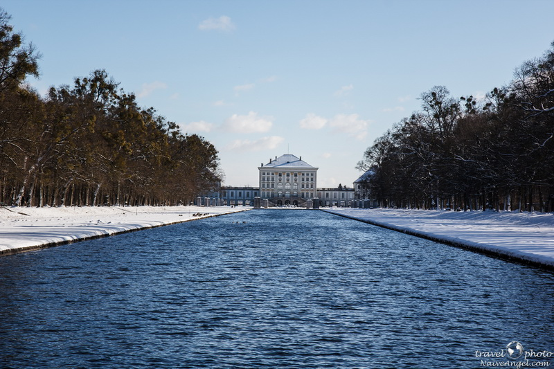 парк,Nymphenburg,germany,munich