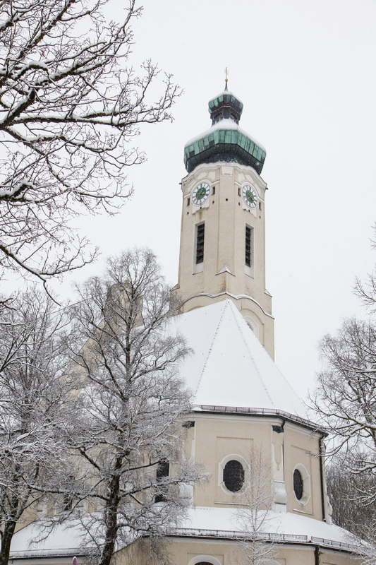 церковь,winter,munich,germany