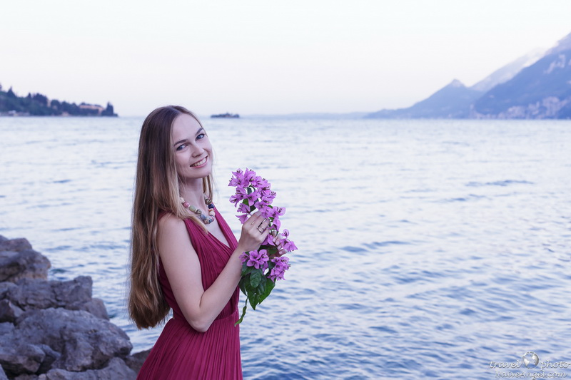 нежный рассвет,photosession, garda lake,malcesine,italy