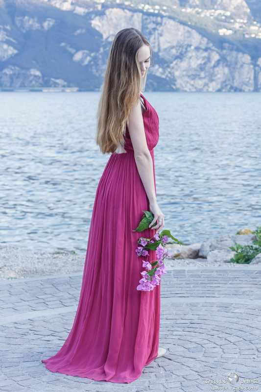красотка,рассвет,photosession, garda lake,malcesine,italy