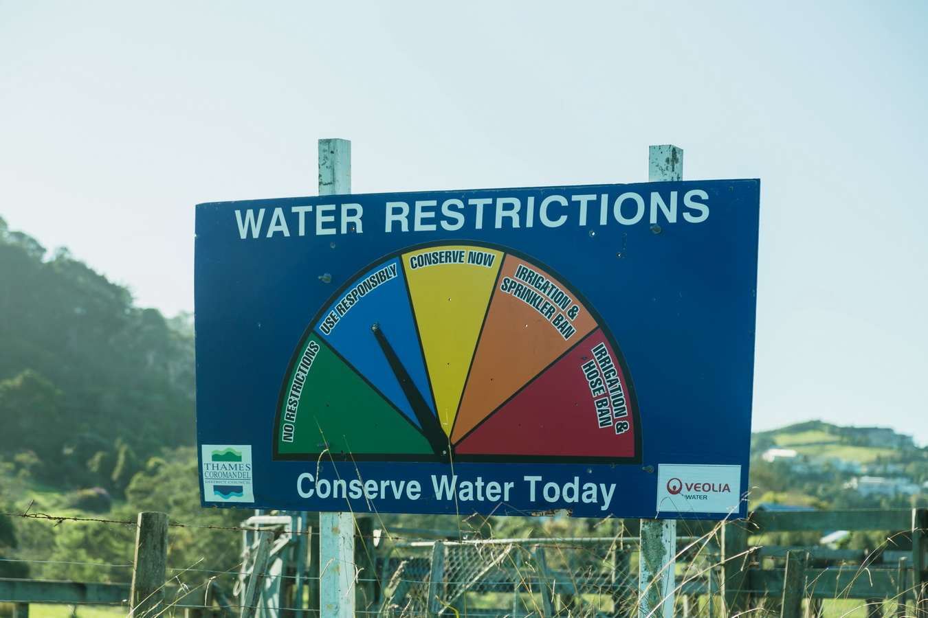 water quality, road, car, road sign, new Zealand