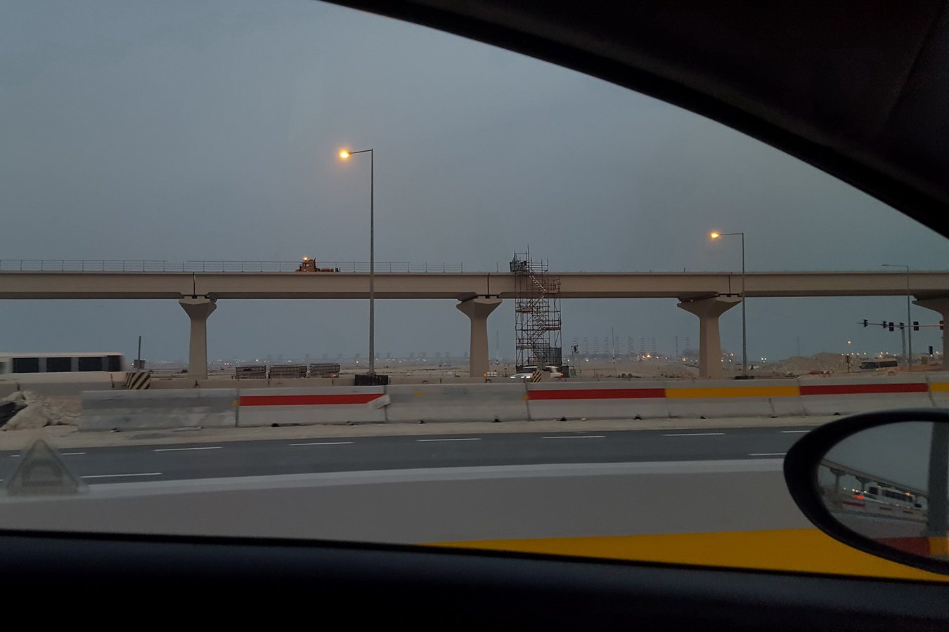 constructions,road works,layover,Doha ,Qatar