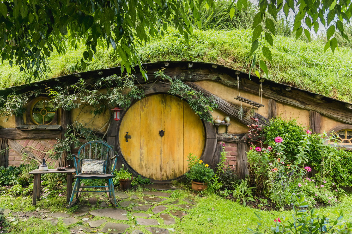 нора,The Hobbiton, The Shire,Хоббитшир, Удел, Хоббитания, Заселье, Край,Matamata, North Island ,New Zealand