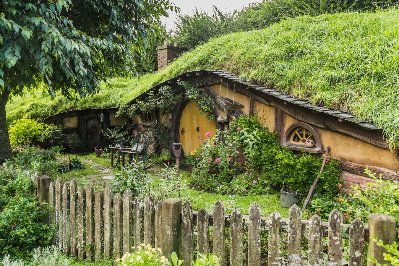 hobbit hause,The Hobbiton, The Shire,Хоббитшир, Удел, Хоббитания, Заселье, Край,Matamata, North Island ,New Zealand