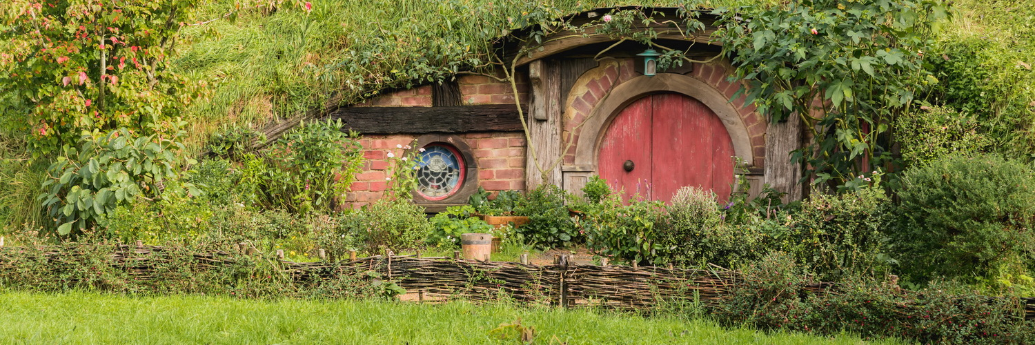 house,The Hobbiton, The Shire,Хоббитшир, Удел, Хоббитания, Заселье, Край,Matamata, North Island ,New Zealand