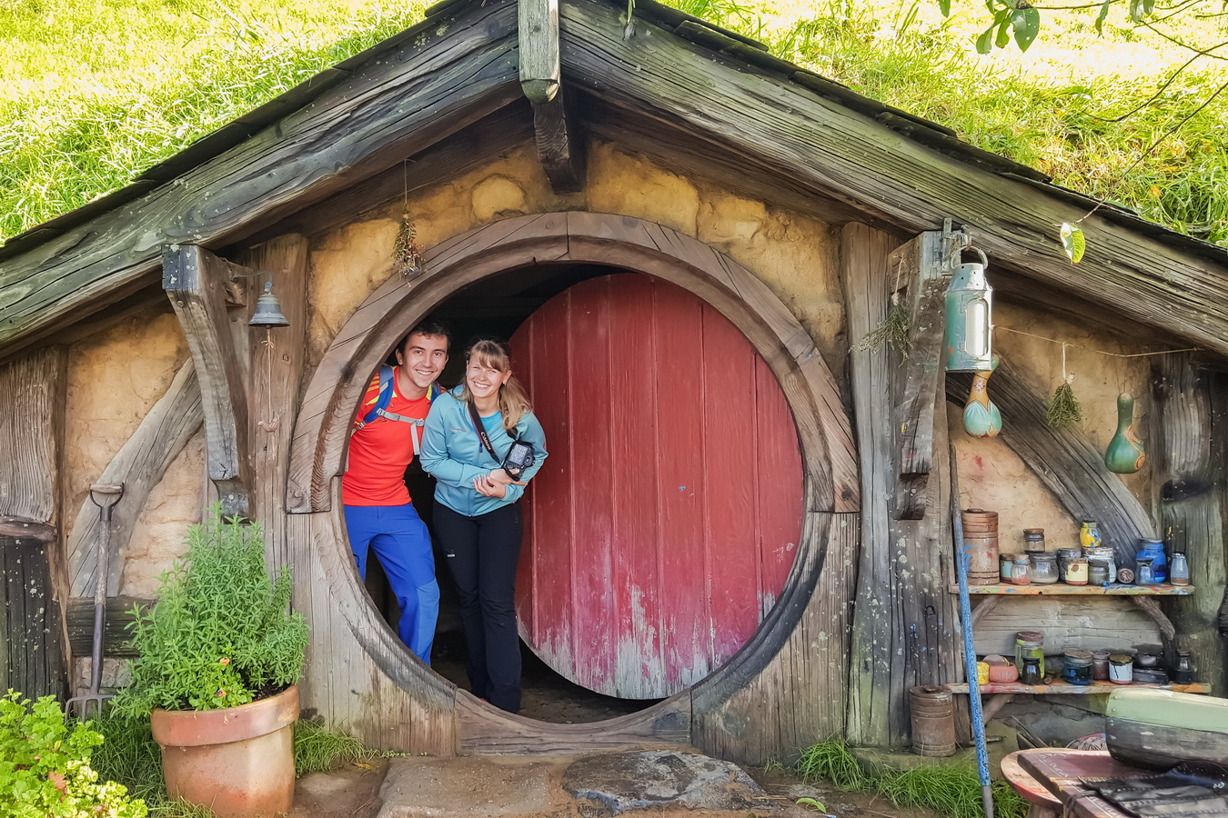 big house,The Hobbiton, The Shire,Хоббитшир, Удел, Хоббитания, Заселье, Край,Matamata, North Island ,New Zealand