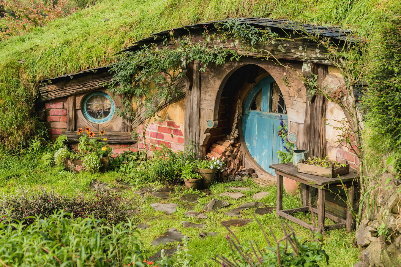 hill,The Hobbiton, The Shire,Хоббитшир, Удел, Хоббитания, Заселье, Край,Matamata, North Island ,New Zealand