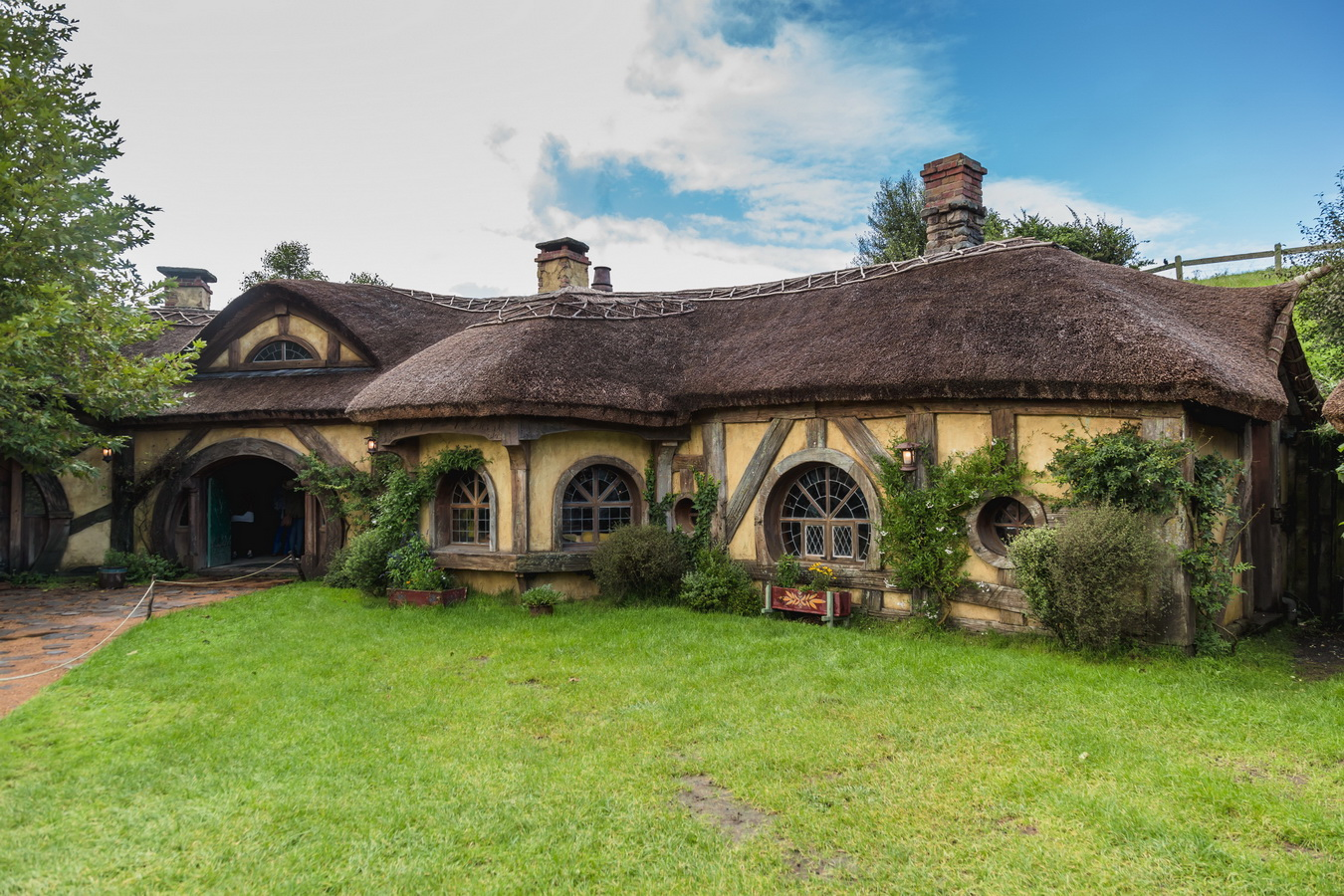 hobbit bar,The Hobbiton, The Shire,Хоббитшир, Удел, Хоббитания, Заселье, Край,Matamata, North Island ,New Zealand