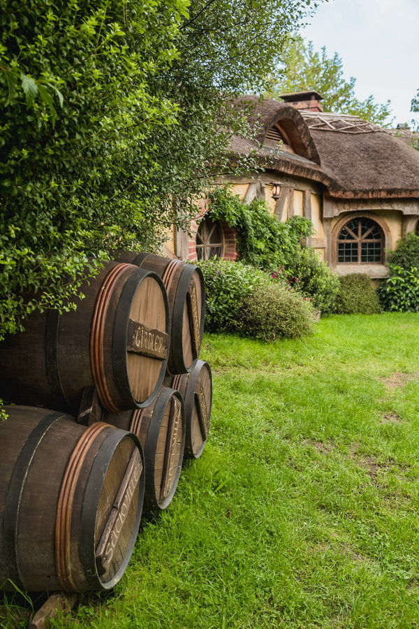 barrel,The Hobbiton, The Shire,Хоббитшир, Удел, Хоббитания, Заселье, Край,Matamata, North Island ,New Zealand