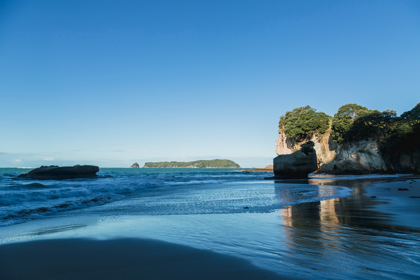 Cathedral Cove,Hahei,  North Island ,New Zealand