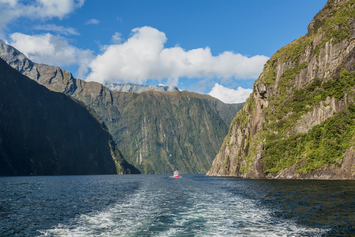 cruise, Milford Sound, Fjord land, Fjordland National Park,South Island ,New Zealand