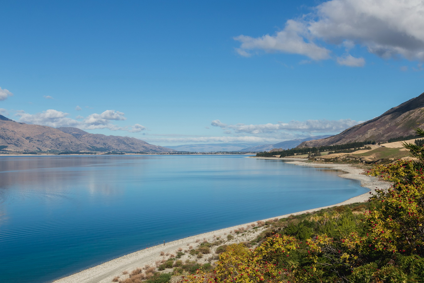 Lake Hawea, South Island ,New Zealand