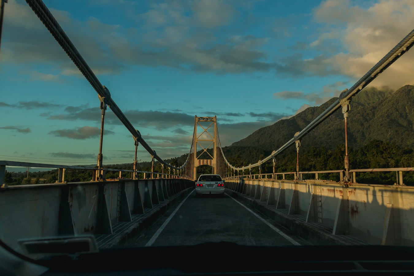 bridge , South Island ,New Zealand