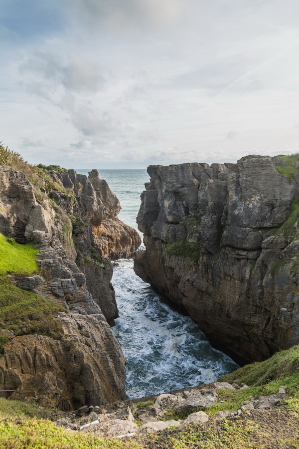 Pancake Rocks and Blowholes, South Island ,New Zealand