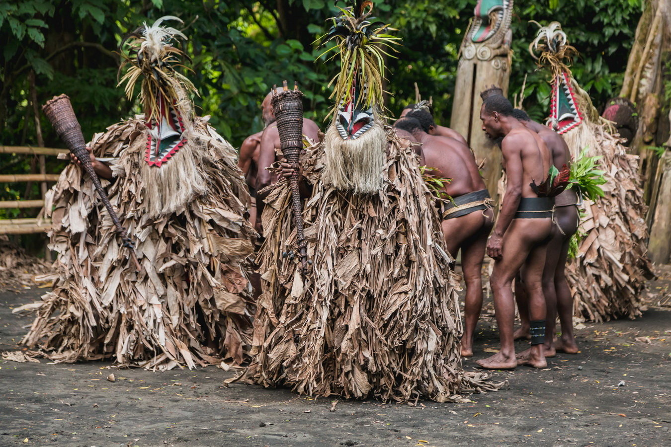 tradition,Rom dances,Fanla, north Ambrym, Ambrym, Vanuatu