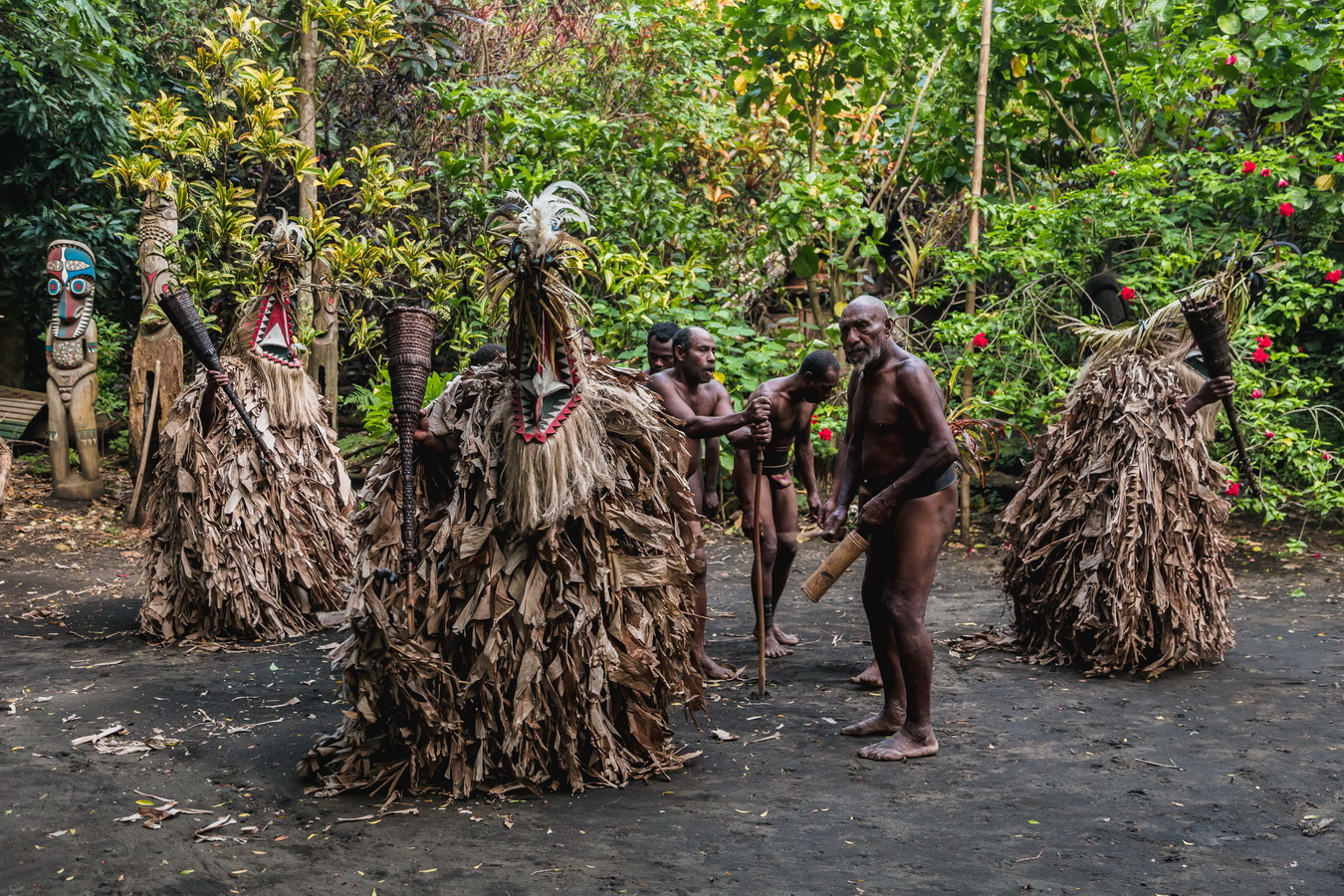 traditional dance,Rom dances,Fanla, north Ambrym, Ambrym, Vanuatu