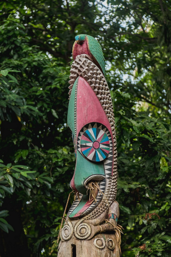wood carving,Rom dances,Fanla, north Ambrym, Ambrym, Vanuatu