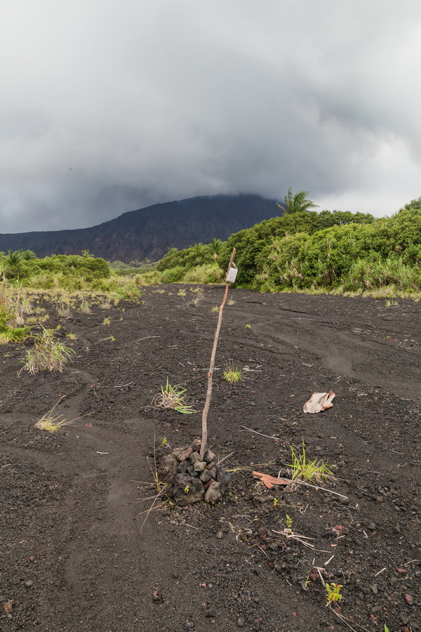 north camp,lava fields,crater,volcano,Ambrym, Vanuatu