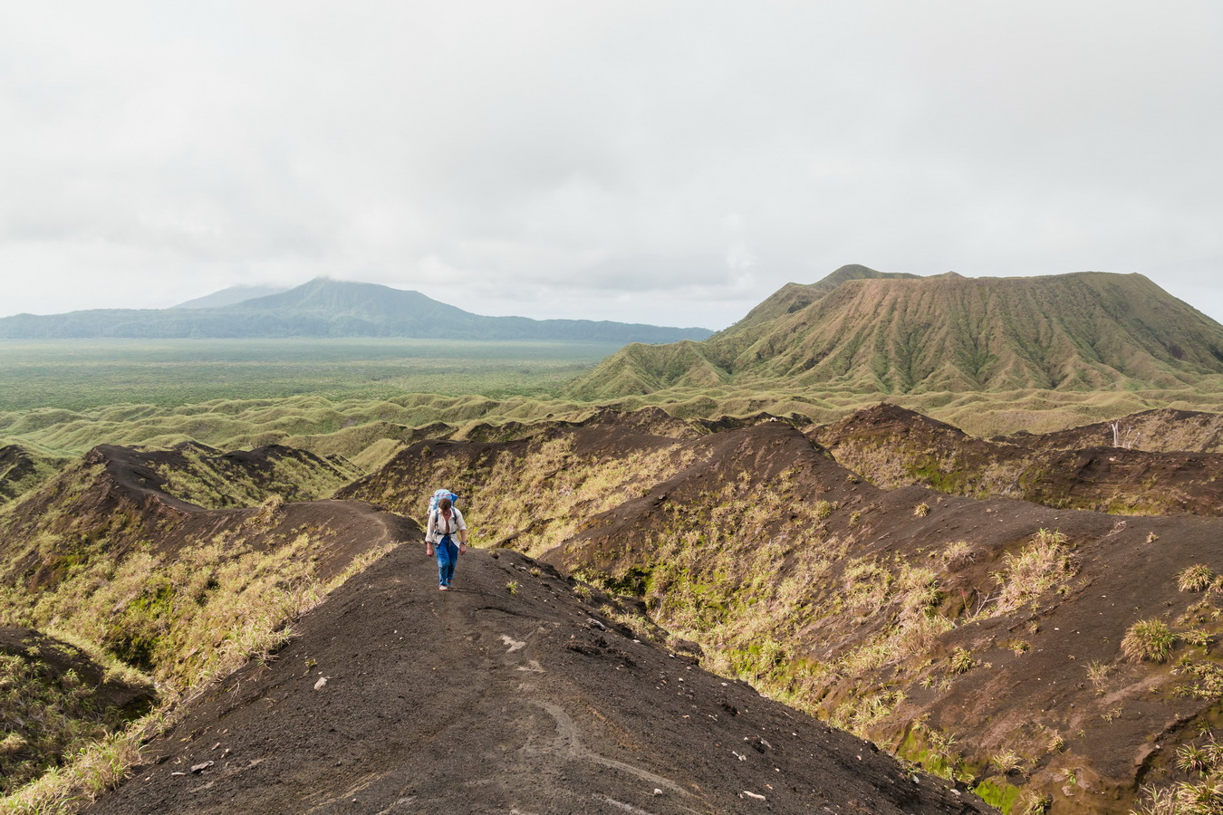north camp,lava fields, way up,marum,crater,volcano,Ambrym, Vanuatu