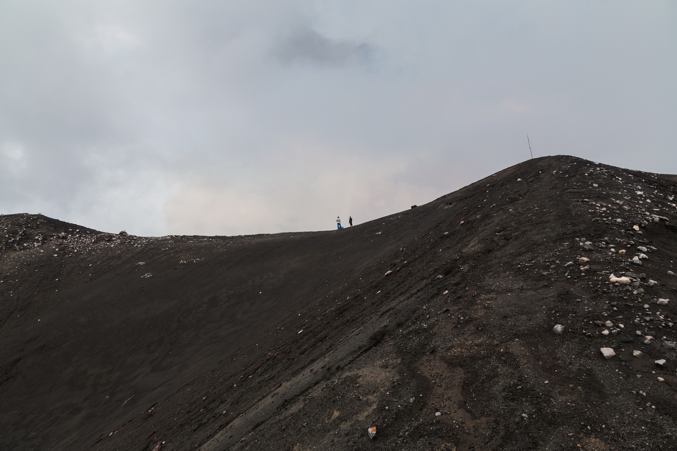 crater edge,way up,marum,crater,volcano,Ambrym, Vanuatu